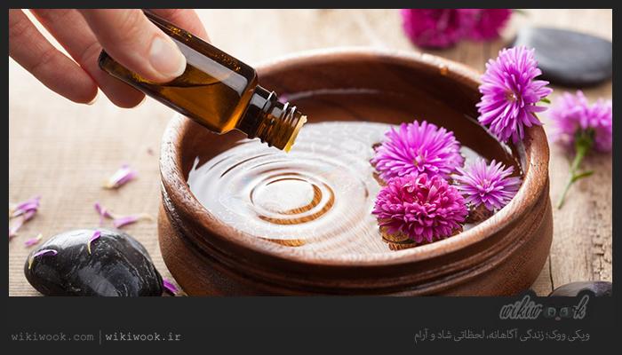 آروماتراپی یا عطر درمانی چیست؟ / ویکی ووک