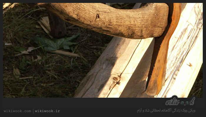 داستان انگیزشی شماره 93 - تبر / ویکی ووک