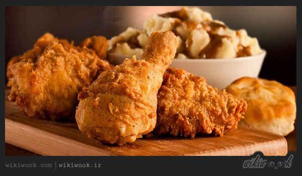 مرغ سوخاری را چگونه درست کنیم؟ / ویکی ووک