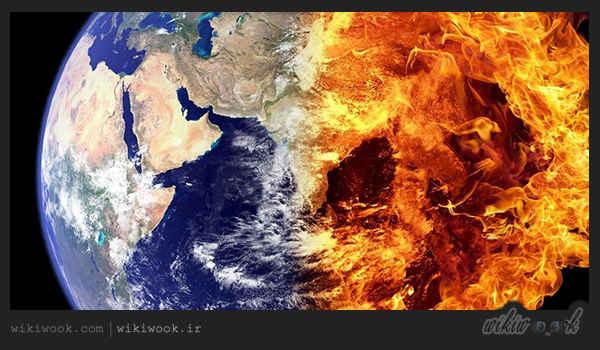 متن کوتاه انگلیسی دربارهی سیارهی زمین قسمت دوم / ویکی ووک
