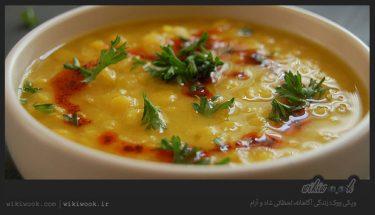 سوپ عدس قرمز و طرز تهیه آن / ویکی ووک