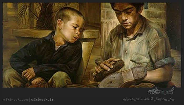 داستان انگیزشی شماره 94 - پسر کفاش / ویکی ووک
