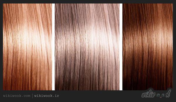 رنگ موی طبیعی