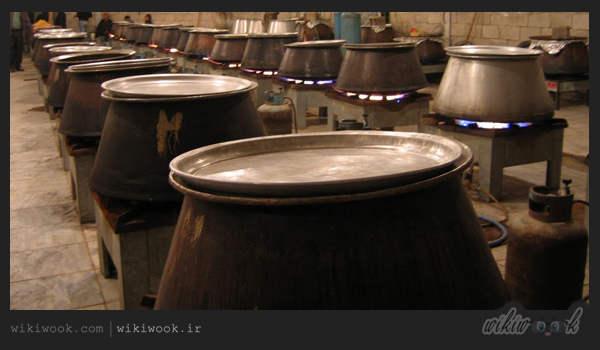 چگونگی پختن برنج نذری برای 100 نفر