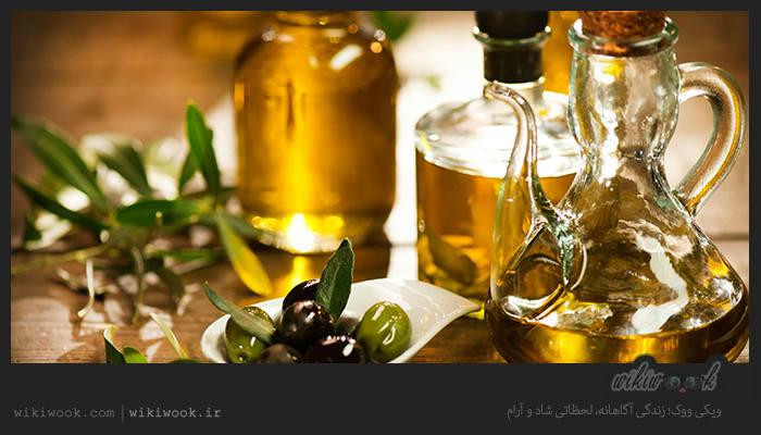 مصرف روغن زیتون