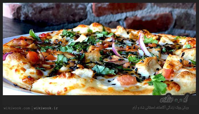پیتزای تن ماهی و طرز تهیه آن / ویکی ووک