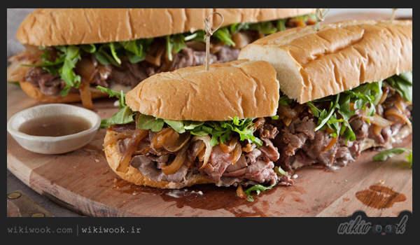 ساندویچ رست بیف را چگونه درست کنیم – ویکی ووک