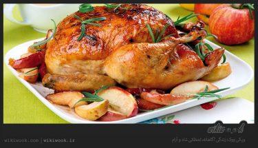 مرغ شکم پر را چگونه درست کنیم؟ / ویکی ووک