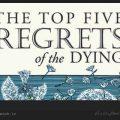 متن کوتاه انگلیسی 5 حسرت بزرگ در هنگام مرگ / ویکی ووک