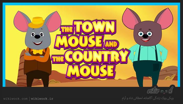 داستان کوتاه انگلیسی موش روستایی و موش شهری