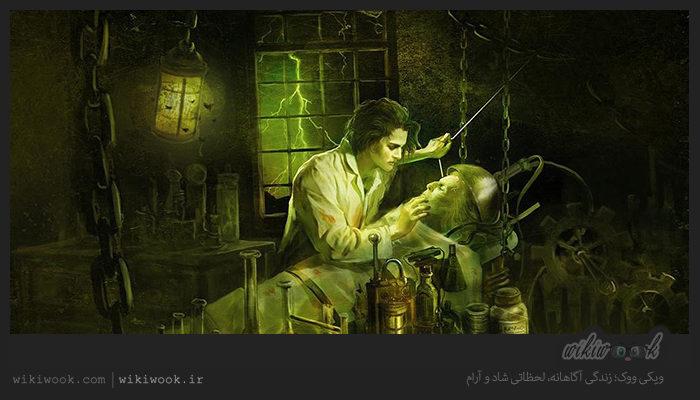 داستان انگلیسی دکتر فرانکشتاین بخش آخر داستان انگلیسی دکتر فرانکشتاین بخش اول