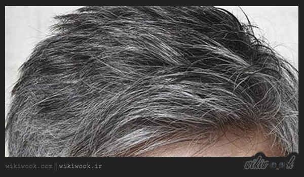 چگونه موهای سفید را سیاه کنیم؟ / ویکی ووک