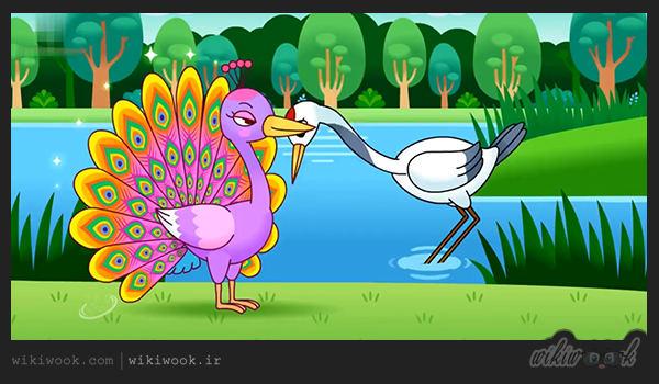 داستان انگلیسی طاووس مغرور / ویکی ووک