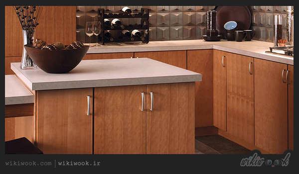 با انواع کابینت آشپزخانه آشنا شویم - ویکی ووک