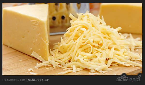 پنیر پیتزا - ویکی ووک