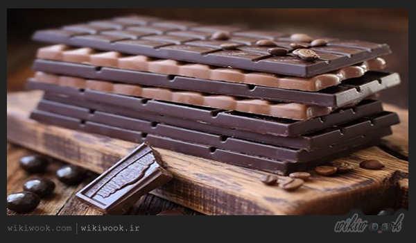 طرز تهیه دونات بدون فر با تزیین شکلاتی – ویکی ووک