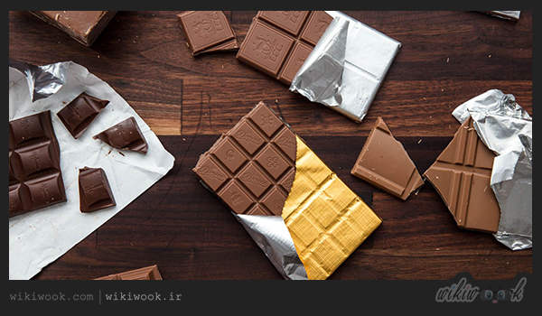 شکلات تخته ای - ویکی ووک