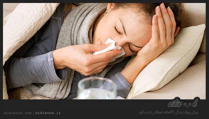 در هنگام سرماخوردگی چه کارهایی را نباید انجام دهید؟ / ویکی ووک