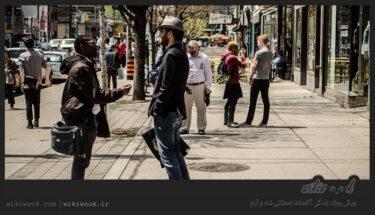 مکالمه کوتاه انگلیسی در خیابان - ویکی ووک