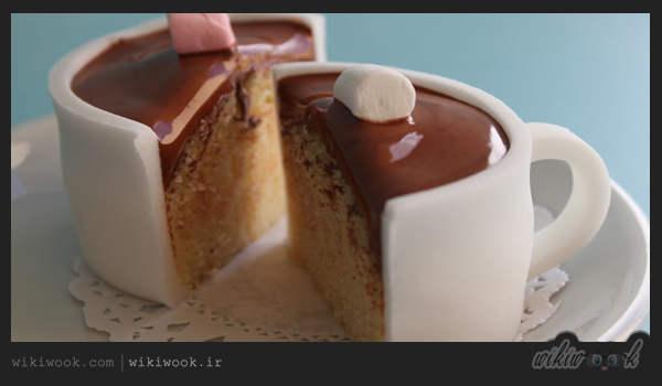 کاپ کیک شیر و قهوه و طرز تهیه آن - ویکی ووک