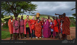 قبیله ماسایی سالم