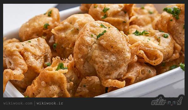طرز تهیه قارچ سوخاری پفکی و خوشمزه - ویکی ووک