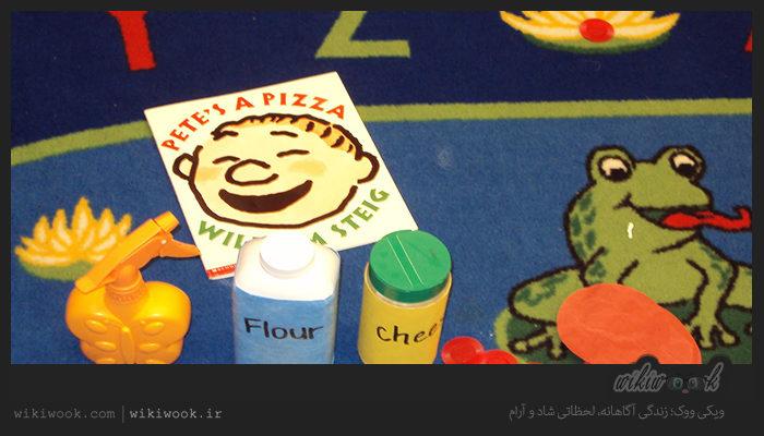 داستان کوتاه انگلیسی پیت یک پیتزا