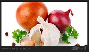 همبرگر مرغ و سبزیجات