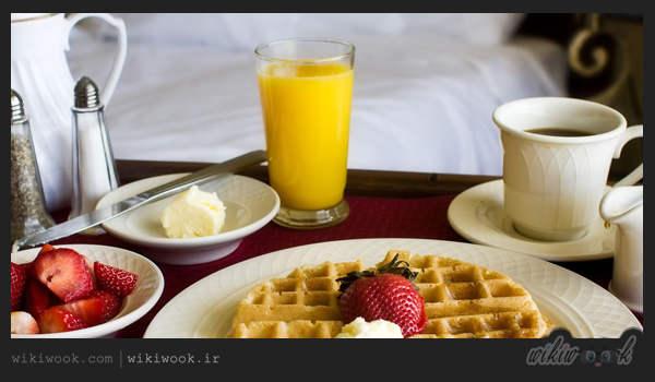 اصطلاحات رایج هتل ها - صبحانه - ویکی ووک
