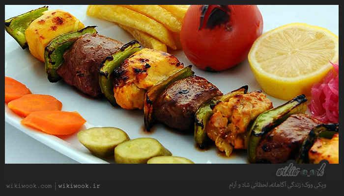 کباب حسینی و طرز تهیه آن / ویکی ووک