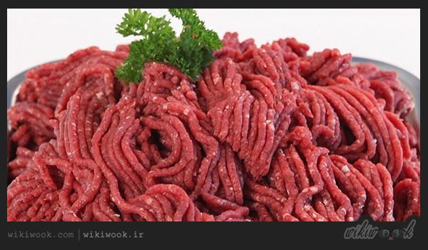 لازانیا گوشت و قارچ