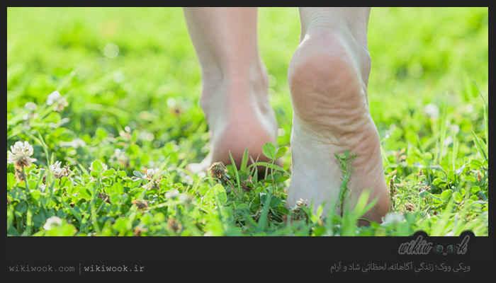 چگونه از پاهای خود مراقبت کنیم؟ - ویکی ووک