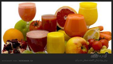 چرا آبمیوه های طبیعی برای بدن مفید هستند؟ / ویکی ووک