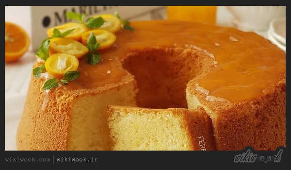 چگونه کیک پرتقالی با رویه کرم پرتقال درست کنیم؟ - ویکی ووک