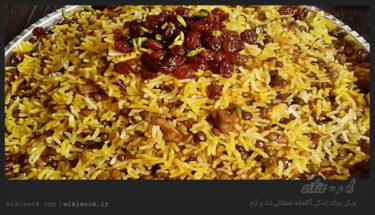 پختن عدس پلو خوشمزه نذری با رعایت نکات طلایی آن - ویکی ووک
