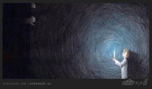 داستان کوتاه انگلیسی هیولا در رختآویز