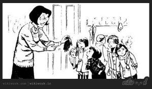 داستان کوتاه انگلیسی دستکش های آبی