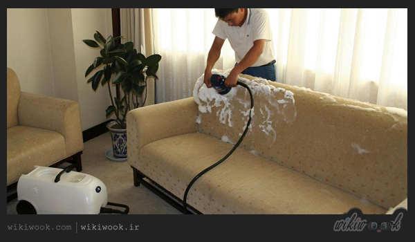 روش هایی برای براق کردن و شستن مبل چرمی – ویکی ووک