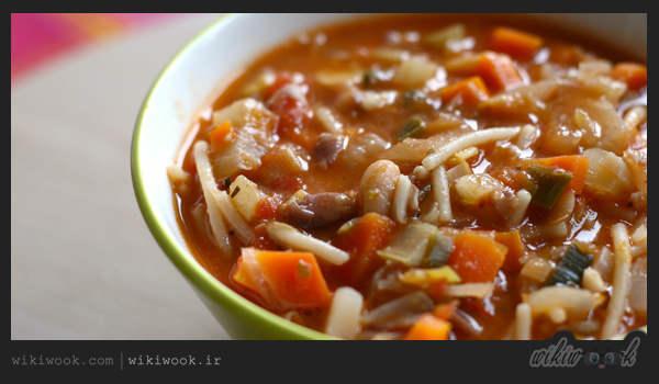 طرز تهیه سوپ مینسترونه – ویکی ووک