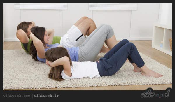 تمرینات تاباتا برای ورزش خانوادگی - ویکی ووک