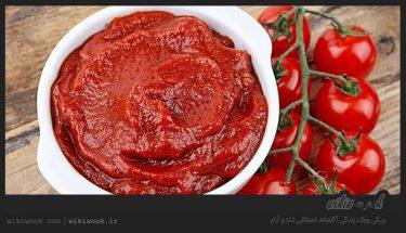 چگونه از کپک زدن رب گوجهفرنگی جلوگیری کنیم؟ / ویکی ووک