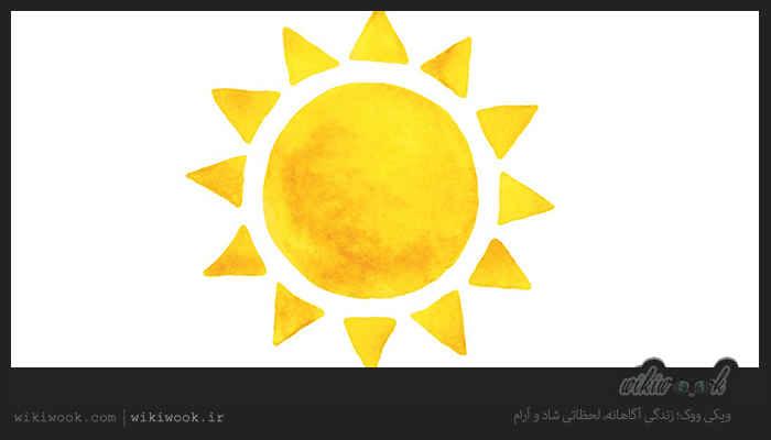 متن کوتاه انگلیسی دربارهی فواید نور خورشید / ویکی ووک