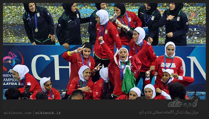 آسیا زیر نگین تیم ملی فوتسال بانوان ایران / ویکی ووک