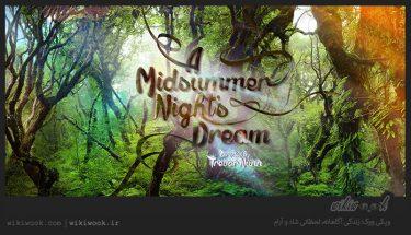 داستان کوتاه انگلیسی رویای نیمه شب تابستان